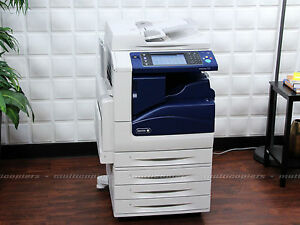 Xerox Workcentre 7535 Color Mfp Copy Print Fax Ifax Scan Email 7525 7530 7545