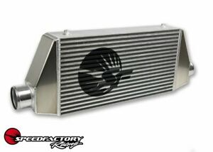 Speedfactory Side In out Universal Front Mount Intercooler 3 5 Core 1000hp