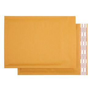 100 4 9 5x14 5 Kraft Bubble Mailers Shipping Padded Envelopes Self seal