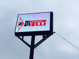 Wireless P10 Series Programmable Full Color Outdoor Digital Led Sign Outdoor