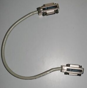 National Instruments 763507 005 Shielded Gpib Type X2 Cable 0 5m Length
