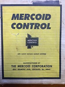 Mercoid Control Ds 231 3 r 8 Mercury Pressure Switch Ds231 3 0 200 Psig