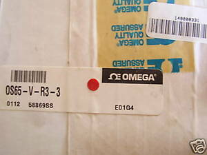 New Omega Os65 v r3 3 Infrared Pyrometer 0 To 250 F