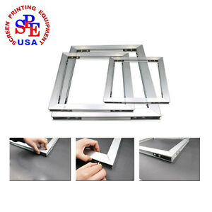 Combination Type Aluminum Screen Printing Frame For Screen Printing 16 18 o D