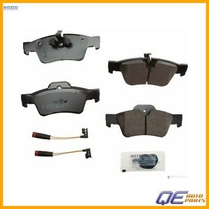 Rear Mercedes Benz R350 Ml350 2006 2013 Disc Brake Pad Akebono Euro Eur1122