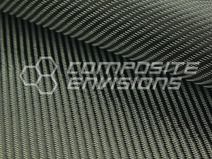 Silver Mirage Carbon Fiber Fabric 2x2 Twill 50 3k 290gsm 8 6oz High Density