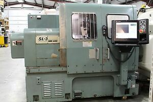 Mori Seiki Sl3 Cnc Lathe Very Heavy Duty Machine With New Machmotion Controller