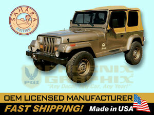 1988 1989 1990 1991 Jeep Wrangler Sahara Edition Yj Decals Stripes Kit