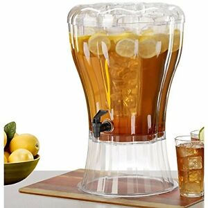 Drink Dispenser Commercial Unbreakable Cold Ice Cone Beverage Juice Party 3 5gal