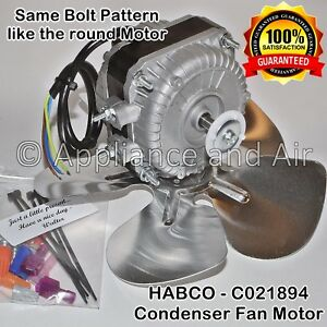 Habco C021894 18w Upgrade Condenser Fan Motor Kit Esm 28 42 46 V2 Soda Coolers