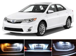 Xenon White License Plate Tag 168 Led Light Bulbs For Toyota Camry 2 Pieces