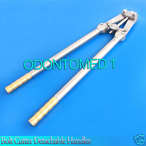 T c Bolt Cutter 22 1 2 Detachable Handles Surgical Veterinary Instruments