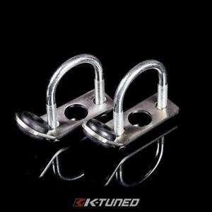 K Tuned Radiator Relocation Brackets Traction Bars Civic Crx Integra K Swap New