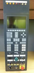 Engel Ec88 Cnc Control Panel With Display Keypad Switches Controls 12871