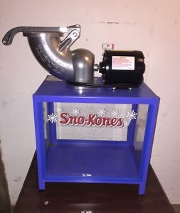 Snow Cone Machine Commercial Shav A Doo Ice Shaver Model 1803