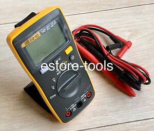 New Fluke 107 F107 Palm sized Digital Multimeter Meter Smaller Than Fluke 17b