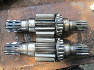 1965 806 Farmall Farm Tractor Brake Shafts Free Shipping