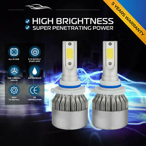 1060w 159000lm 9006 Hb4 Led Conversion Headlight Kit Xenon White 6000k Bulbs