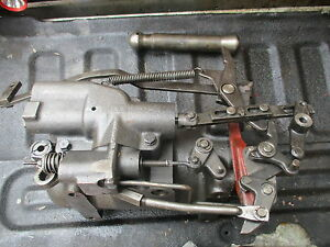 1963 Farmall 806 Gas Row Crop Tractor Hydraulic 3 Point Lift Cylinder Free Ship