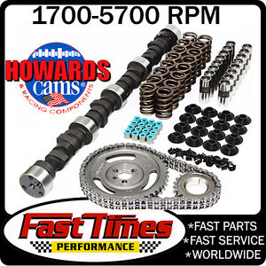 Howard s Sbc Small Block Chevy 275 275 470 470 108 Hyd Camshaft Cam Kit