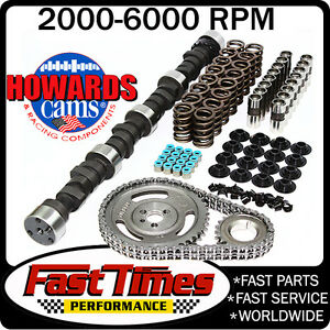 Howard s Sbc Small Block Chevy 275 285 470 470 110 Hyd Camshaft Cam Kit
