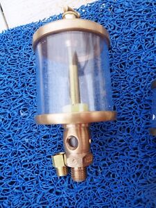 Oiler Brass 1 4 Npt 100 Cl Drop Sight Type Suit Old Engines