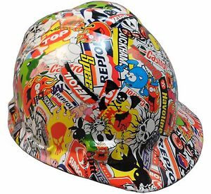 wild side Hydro Dipped Women children Small Size Safety Hard Hats 2 Styles