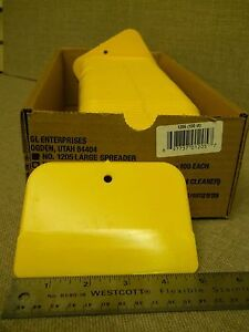 Paint Spreaders 1205 3 X 5 Spreaders Lot Of 100 For Body Filler Putty