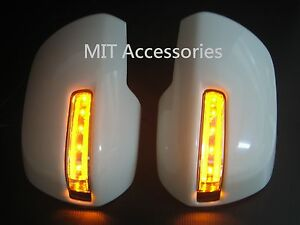Toyota Sienna 11 20 Led Mirror Cover Turn Signal Lights Parking Lamps unpainted