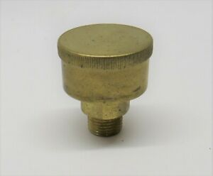 000 1 8 Npt Brass Grease Cup Gas Engine Motor Hit Miss Steam Tractor Fuel