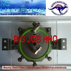 Hho Cell 11 Plate Dry Cell Hydrogen Generator For Diesel Gas Petrol Car Trucks
