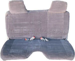 A27 Dg Toyota Compact Truck Rcab Xcab Large Notched Cushion Bench Seat Covers