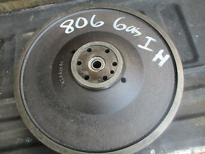 1965 Farmall 806 Gas Farm Tractor Flywheel Free Shipping 378614r