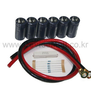 lsmtron 100f X 6 16 8v 16 6f Super Capacitor Power Stabilizer Set