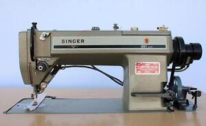 Singer 591d 300 Straight Lockstitch Computerized Industrial Sewing Machine 220v