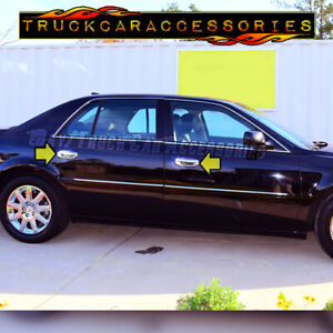 For Cadillac Dts 2006 2007 2008 2009 2010 2011 Chrome 4 Door Handle Covers W O
