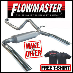 Flowmaster 17233 1986 1991 Camaro Firebird 5 0l 5 7l 3 Cat back Exhaust System