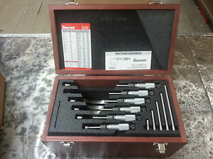 Starrett Sv226mbxrlz Outside Micrometer Set In Stock