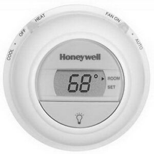 Honeywell T8775c1005 Digital Round Non programmable Heating Cooling Thermostat