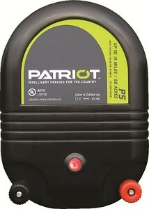 Patriot P5 15 Mile Fence Charger Dual Purpose