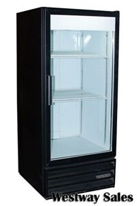 Beverage Air Mt 10 10 Cu Ft Glass Door Cooler Merchandiser Display Refrigerator