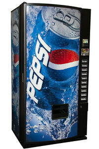 Royal Vendors Rvmce 654 10 10 Selection Multi Price Vending Machine Pepsi Logo