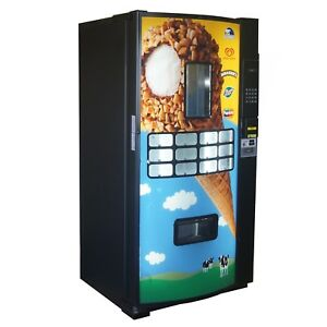 Fastcorp Ice Cream Frozen Ice Cream Vending Machine Model Fri z400 Reconditioned