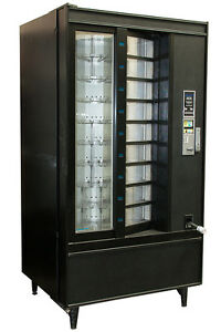 Crane National Shoppertron 430 Rotating Cold Food Vending Machine Refrigerated