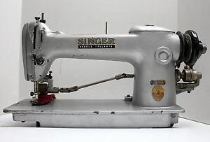 Singer 241 12 Lockstitch 1 needle Puller Industrial Sewing Machine Head Only