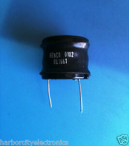 Rl 1961 Renco High Current Choke 47uh To 2200uh Up To 20a Dc Saturation