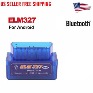 Mini Elm327 V2 1 Obd2 Obdii Bluetooth Adapter Auto Scanner Torque Android Us