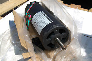 New 4665d 15 Magnetek 1 5hp Dual Shaft Dc Motor 180 V D C Variable Speed guar