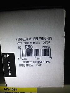 P225 Wheel Weights 2 25 Oz Uncoated Lead Tire Wheel Weights 50 Box
