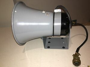 Brand New Federal Signal Model Sa24 1z Siren Horn Speaker